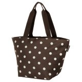 reisenthel Shopper M mocha dots